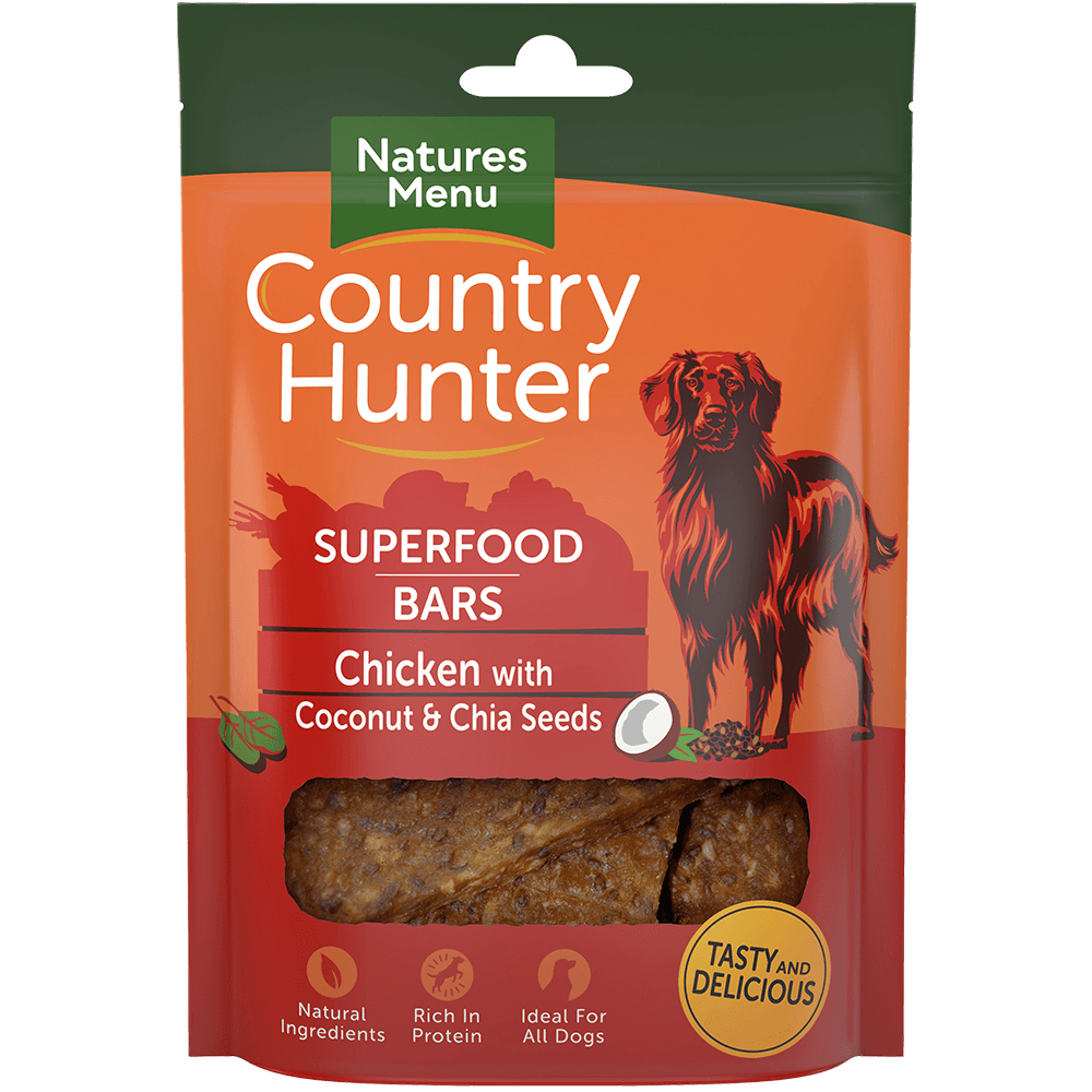 Country Hunter Superfood Bars - Chicken